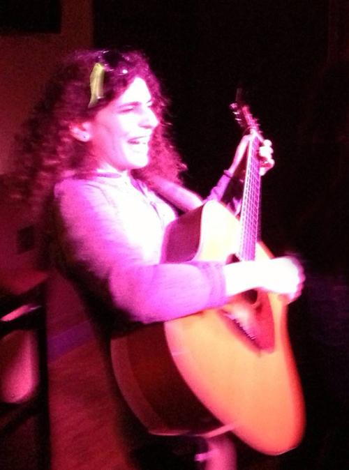 Leah Performing